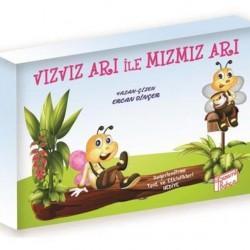 1. Sınıf Hikaye Kitabı 10 Kitap Vızvız Arı ile Mızmız Arı Gizemli Bahçe