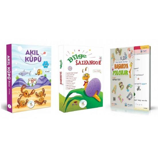 1. Sınıf Hikaye Kitabı 20 Kitap + Tüm Dersler Yaprak Test 5 Renk