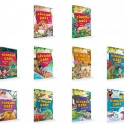 1. Sınıf Hikaye Kitabı Dinozor Çağı 10 Kitap Damla Yayınevi