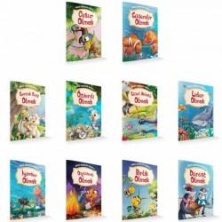 1. Sınıf Hikaye Kitabı Güçlü Karakter Serisi 10 Kitap Damla Yayınevi