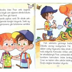 1. Sınıf Hikaye Kitabı Seti 10 Kitap Şekerpare 5 Renk