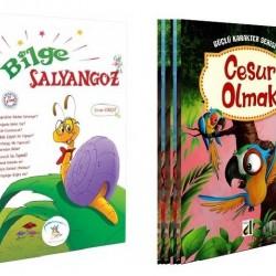 1. Sınıf Hikaye Kitabı Seti 20 kitap Bilge Salyangoz Güçlü Karakter Serisi
