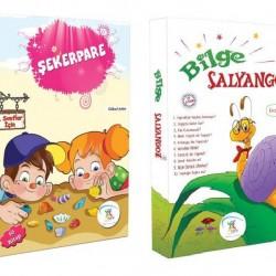 1. Sınıf Hikaye Kitabı Seti 20 Kitap Bilge Salyangoz + Şekerpare 5 Renk
