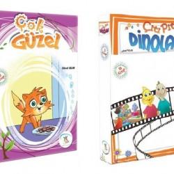 1. Sınıf Hikaye Kitabı Seti 20 Kitap Çok Güzel + Çıtı Pıtı Dinolar 5 Renk
