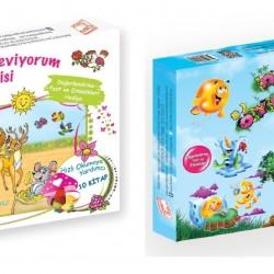 1. Sınıf Hikaye Kitabı Seti 20 Kitap Okumayı Seviyorum + Doğa Öyküleri Gizemli Bahçe