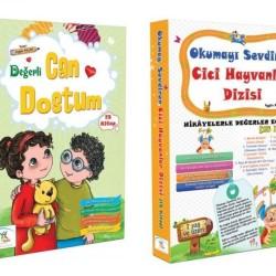 1. Sınıf Hikaye Kitabı Seti 30 Kitap Can Dostum + Cici Hayvanlar 5 Renk