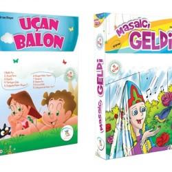 1. Sınıf Hikaye Kitabı Seti 30 Kitap Uçan Balon + Masalcı Geldi 5 Renk