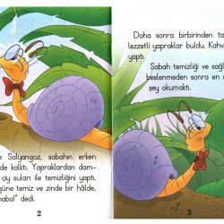 1. Sınıf Hikaye Kitabı Seti Bilge Salyangoz 10 Kitap 5 Renk