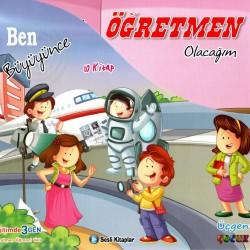 1. Sınıf Sesli Hikaye Okuma Kitabı 10 Kitap Ben Büyüyünce Üçgen Çocuk