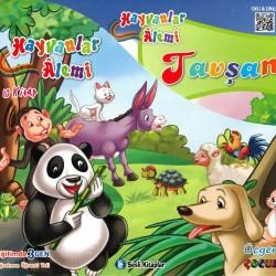 1. Sınıf Sesli Hikaye Okuma Kitabı 10 Kitap Hayvanlar Alemi Üçgen Çocuk