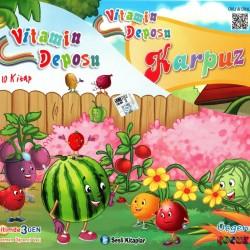 1. Sınıf Sesli Hikaye Okuma Kitabı 10 Kitap Vitamin Deposu Üçgen Çocuk