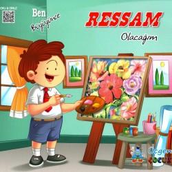 1. Sınıf Sesli Hikaye Okuma Kitabı 5 Kitap Ben Büyüyünce Üçgen Çocuk