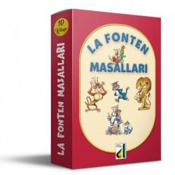 1. 2. ve 3. Sınıf Hikaye Kitabı 10 Kitap La Fonten Masalları Damla Yayınevi