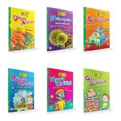 2 , 3. ve 4. Sınıf Hikaye Kitabı 6 Kitap Yeşil Dahi Serisi Damla Yayınevi