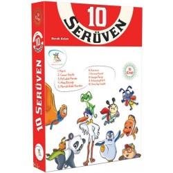 2. Sınıf Hikaye Kitabı Seti 10 Serüven Dizisi 10 Kitap 5 Renk