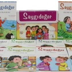2. Sınıf Hikaye Kitabı Seti 10 Kitap Saygıdeğer 5 Renk