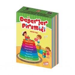 2. ve 3. Sınıf Hikaye Kitabı 8 Kitap Değerler Piramidi Gizemli Bahçe