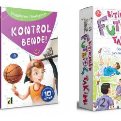 2 Ve 3. Sınıf Hikaye Kitabı Bitirimler Futbol Takımı + Kontrol Bende 15 Kitap  Damla Yay.