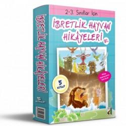 2. ve 3. Sınıf Hikaye Kitabı İbretlik Hayvan Hikayeleri 5 Kitap Damla Yayınevi