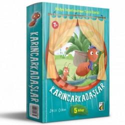 2. ve 3. Sınıf Hikaye Kitabı Karıncarkadaşlar Dizisi 5 Kitap Damla Yayınevi