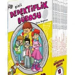 3,4,5. Sınıf Hikaye Kitabı Gizli Dedektiflik Bürosu 10 Kitap Damla Yayınevi