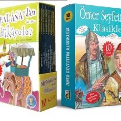 3 Ve 4. Sınıf Hikaye Kitabı Seti Mevlanadan Hikayeler + Ömer Seyfettin Klasikleri Damla Y