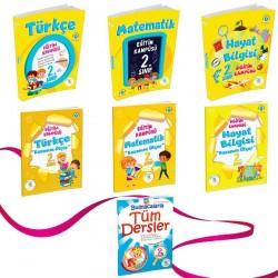 5 Renk Yayınevi 2. Sınıf Eğitim Kampüsü Seti 2021 Yeni Basım