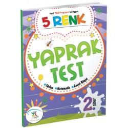 5 Renk Yayınevi 2. Sınıf Yaprak Test