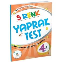 5 Renk Yayınevi 4. Sınıf Tüm Dersler Yaprak Test