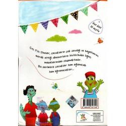 1. Sınıf Hikaye Kitabı Seti Çıtı Pıtı Dinolar 10 Kitap 5 Renk