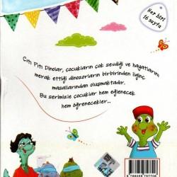 5 Renk Yayınevi Çıtı Pıtı Dinolar Hikaye Seti 10 Kitap
