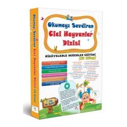 1. Sınıf Hikaye Kitabı Seti Okumayı Sevdiren Cici Hayvanlar 15 Kitap 5 Renk