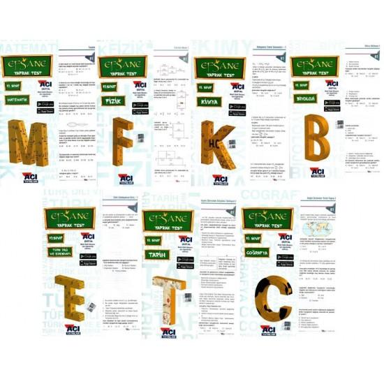 Açı Yayınları 10. Sınıf Efsane Yaprak Test Seti 7 Test