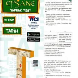 Açı Yayınları 10. Sınıf Tarih Efsane Yaprak Test