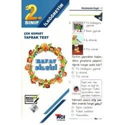 Açı Yayınları 2. Sınıf Hayat Bilgisi Çek Kopart Yaprak Test
