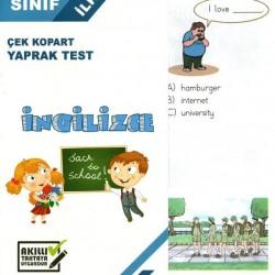 Açı Yayınları 2. Sınıf İngilizce Çek Kopart Yaprak Test