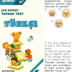 Açı Yayınları 2. Sınıf Türkçe Çek Kopart Yaprak Test
