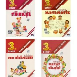 Açı Yayınları 3. Sınıf Etkinlikli Soru Bankası Set 4 Kitap