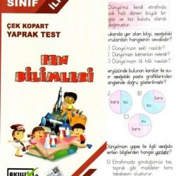 Açı Yayınları 3. Sınıf Fen Bilimleri Çek Kopart Yaprak Test
