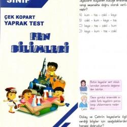 Açı Yayınları 4. Sınıf Fen Bilimleri Çek Kopart Yaprak Test