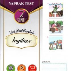 Açı Yayınları 7. Sınıf İngilizce Efsane Yaprak Test