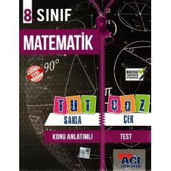 Açı Yayınları 8. Sınıf Matematik Tut Sakla Çek Çöz