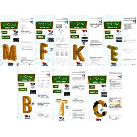 Açı Yayınları 9. Sınıf Efsane Yaprak Test Seti 7 Test