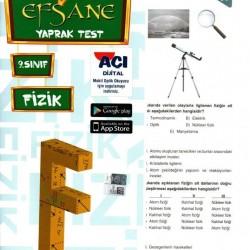 Açı Yayınları 9. Sınıf Fizik Efsane Yaprak Test