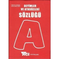 Açı Yayınları Atasözler ve Deyimler Sözlüğü