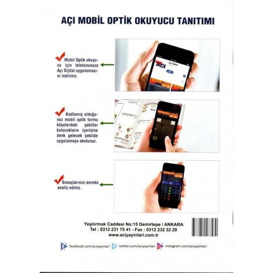 Açı Yayınları TYT Türkçe Efsane Yaprak Test