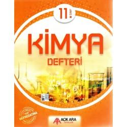 Açık Ara Yayınları 11. Sınıf Kimya Defteri