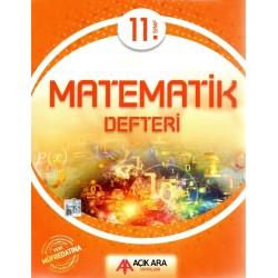 Açık Ara Yayınları 11. Sınıf Matematik Defteri