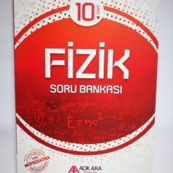 Açık Ara Yayınları 10. Sınıf Fizik Soru Bankası
