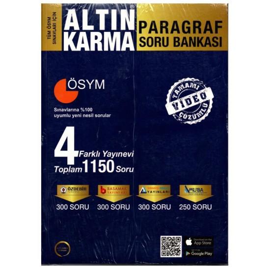 Altın Karma TYT Paragraf Soru Bankası